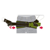 Тактическая медицинская повязка при переломе костей таза SAM Medical – фото 2