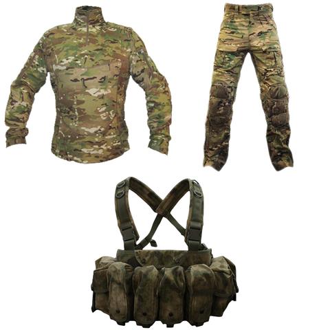 Комплект Tactical Performance. Тактическая рубашка под бронежилет + Тактические штаны = Разгрузочный жилет со скидкой 50% – купить с доставкой по цене 34275руб.