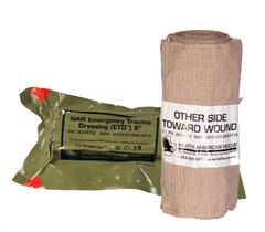 Стерильный бинт Emergency Trauma Dressing (ETD) - 6 in. North American Rescue
