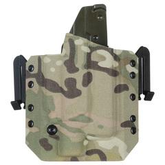 Быстросъёмная кобура под Glock 17 с фонарём X400 5.45 DESIGN