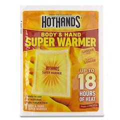 Универсальные грелки Super Warmer HotHands
