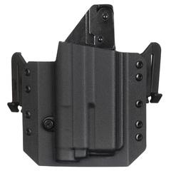 Быстросъемная кобура из Kydex под Glock с фонарём 5.45 DESIGN