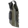 Кобура Level 1 под Glock 17 с фонарём X300 5.45 DESIGN – фото 6