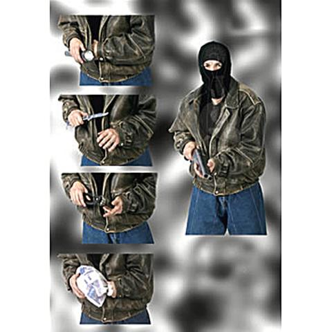 Серия тактических мишеней для стрельбы. Мишень №2 ESP – купить с доставкой по цене 290р