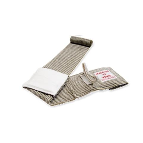 Эластичный марлевый бинт с клапаном давления, мобильной подушкой и петлевой ручкой (10 х 17 см) FCP07 First Care – купить с доставкой по цене 1 190р