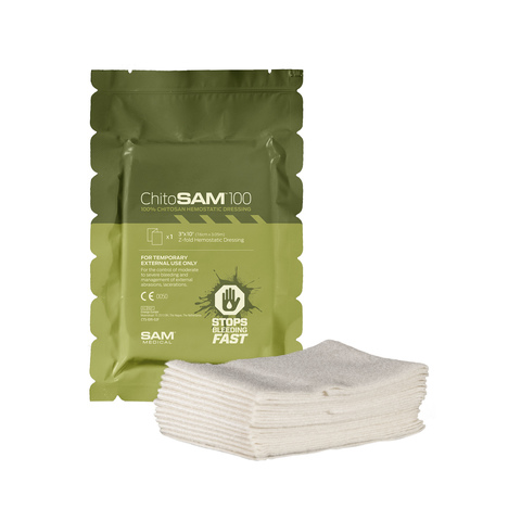 Гемостатическая повязка 7,5см x 3,05м ChitoSAM100 Sam Medical – купить с доставкой по цене 5240руб.