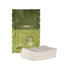 Гемостатическая повязка 7,5см x 3,05м ChitoSAM100 Sam Medical