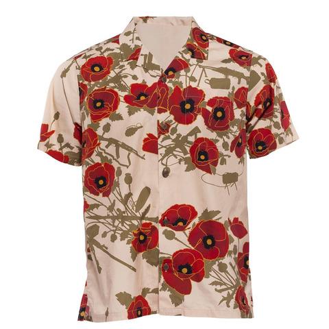 Рубашка Aloha Shirt Poppies of War Otte Gear – купить с доставкой по цене 7 000р