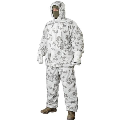 Белый маскировочный халат 'МИРАЖ' 5.45 DESIGN – купить с доставкой по цене 4 590р