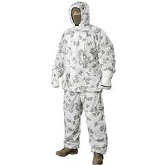 Белый маскировочный халат