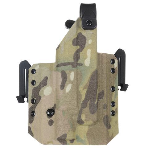 Быстросъёмная кобура Level 1 под Glock 17 с фонарём X300 5.45 DESIGN – купить с доставкой по цене 0руб.