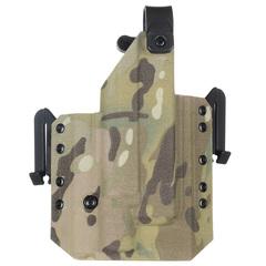 Быстросъёмная кобура Level 1 под Glock 17 с фонарём X300 5.45 DESIGN