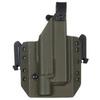 Быстросъёмная кобура Level 1 под Glock 17 с фонарём X300 5.45 DESIGN – фото 2
