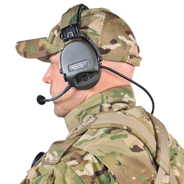Динамические наушники для военных