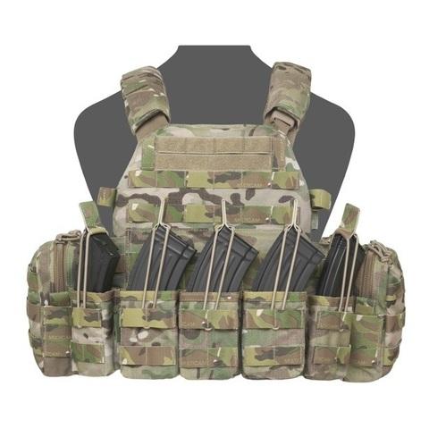 Тактический разгрузочный жилет с подсумками под 7,62-мм АК DCS Warrior Assault Systems – купить с доставкой по цене 22 890 р
