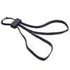 Чёрные текстильные одноразовые наручники HT-01-B ESP