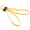 Жёлтые текстильные одноразовые наручники HT-01-Y ESP