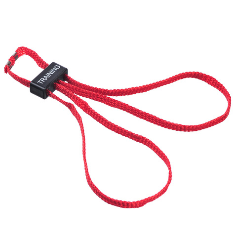 Красные текстильные тренировочные наручники HT-01-T ESP – купить с доставкой по цене 250руб.