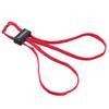 Красные текстильные тренировочные наручники HT-01-T ESP – фото 1