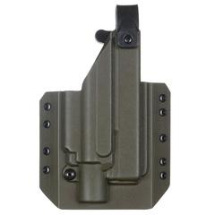 Кобура Level 1 под Glock 17 с фонарём X400 5.45 DESIGN