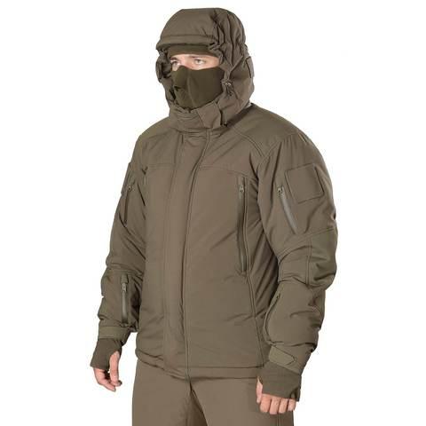 Тактическая зимняя куртка