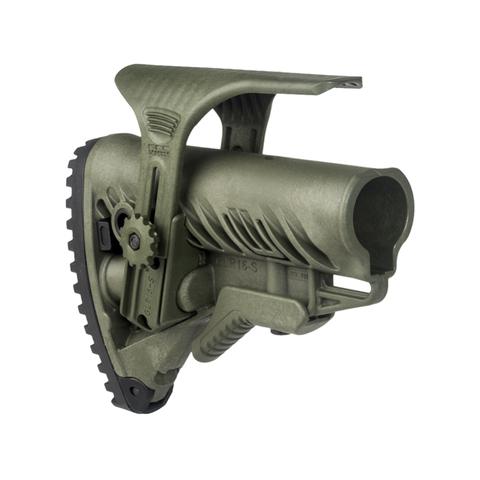 Полимерный приклад с упором для щеки GLR-16 CP Fab-Defense – купить с доставкой по цене 8150руб.