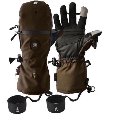Тактические зимние сенсорные перчатки-рукавицы Heat 3 Smart – купить с доставкой по цене 9 990р