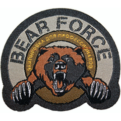 Патч BEAR FORCE
